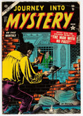 Golden Age (1938-1955):Horror, Journey Into Mystery #21 (Marvel, 1955) Condition: VG/FN....