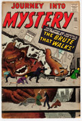 Silver Age (1956-1969):Horror, Journey Into Mystery #65 (Marvel, 1961) Condition: VG/FN....