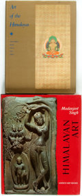 Books:Art & Architecture, [Himalayan Art]. Pair of Books about Himalayan Art. Various publishers and dates. Folios. Publisher's cloth and original dus... (Total: 2 Items)