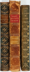 Books:Literature Pre-1900, [Charles Lamb]. Group of Three Books by or about Charles Lamb.Various publishers and dates. All bound in leather of differe...(Total: 3 Items)
