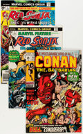 Bronze Age (1970-1979):Adventure, Conan the Barbarian and Related Titles Group (Marvel, 1970s) Condition: Average VF/NM.... (Total: 19 Comic Books)