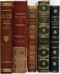Books:Literature Pre-1900, [Robert Louis Stevenson, Nathaniel Hawthorne, Henry van Dyke,Bernard Shaw, Henry Fielding]. Group of Five Books with Assorted...(Total: 5 Items)