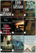 Books:Mystery & Detective Fiction, John Grisham. Group of Seventeen First Editions. New York:Doubleday, [various dates]. Original bindings and dust jackets.F... (Total: 17 Items)