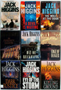 Books:Mystery & Detective Fiction, Jack Higgins. Group of Seventeen First Editions in the Sean DillonSeries. Various publishers and dates (most Putnam's). Ori...(Total: 17 Items)