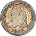 Bust Dimes, 1823/2 10C Small Es MS65 NGC. JR-1, R.3....