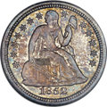 Seated Dimes, 1852-O 10C MS65 NGC. CAC. Fortin-101, R.4....
