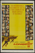 "Movie Posters:War, The Longest Day (20th Century Fox, 1962). One Sheet (27"" X 41"").War. ..."