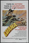 "Movie Posters:Adventure, Luana (Capital Productions, 1973). One Sheet (27"" X 41"") Style B.Adventure. ..."