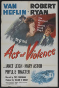 """Movie Posters:Film Noir, Act of Violence (MGM, 1949). One Sheet (27"""" X 41""""). Film Noir. ..."""