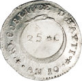 Haiti: , Haiti: Republic 25 Centimes An 10 (1813), KM12.1, MS66 NGC, anabsolutely fabulous coin with sharp details and full frosty whitemi...