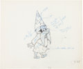 Animation Art:Production Drawing, A Connecticut Rabbit in King Arthur's Court Yosemite SamProduction Drawing (Warner Brothers, 1978).... (Total: 14 OriginalArt)