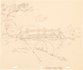Animation Art:Production Drawing, A Day For Eeyore Background Layout Drawing Group (WaltDisney, 1983).... (Total: 7 Items)