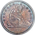 Seated Quarters, 1889 25C MS67 PCGS. CAC....