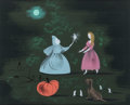 Animation Art:Concept Art, Mary Blair Cinderella Fairy Godmother Concept PaintingOriginal Art (Walt Disney, 1950)....