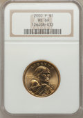 Sacagawea Dollars: , 2000-P $1 Sacagawea MS69 NGC. NGC Census: (76/0). PCGS Population(4/0). Numismedia Wsl. Price for problem free NGC/PCGS c...