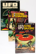 Bronze Age (1970-1979):Science Fiction, UFO Flying Saucers/UFO & Outer Space Group - Savanna pedigree (Gold Key, 1968-80) Condition: Average VF+.... (Total: 23 Comic Books)
