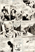 Original Comic Art:Panel Pages, Neal Adams and Dick Giordano Batman #234 Page 6 Original Art (DC, 1971)....