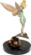 Animation Art:Model Sheet, Marc Davis Studio Tinker Bell Limited Edition Bronze Statue#2/177 (Walt Disney, 1998)....