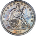 Proof Seated Half Dollars, 1839 50C No Drapery PR64 PCGS. WB-101....