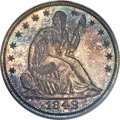 Proof Seated Half Dollars, 1848 50C PR64 PCGS. WB-101....