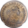 Early Dollars, 1799/8 $1 15 Stars Reverse -- Artificial Toning -- NGC Details. AU.B-3, BB-141, R.3....