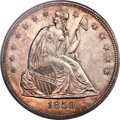 Seated Dollars, 1859 $1 MS64 PCGS. CAC....
