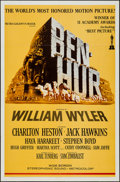 "Movie Posters:Academy Award Winners, Ben-Hur (MGM, R-1969). One Sheet (27"" X 41"") & Lobby Card Setof 8 (11"" X 14""). Academy Award Winners.. ... (Total: 9 Items)"