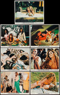 """Movie Posters:Sexploitation, Beyond the Valley of the Dolls (20th Century Fox, 1970). LobbyCards (7) (11"""" X 14""""). Sexploitation.. ... (Total: 7 Items)"""