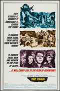"""Movie Posters:War, The Train (United Artists, 1965). One Sheets (2) (27"""" X 41"""") StylesA & B, & Lobby Cards (6) (11"""" X 14""""). War.. ... (Total: 8Items)"""