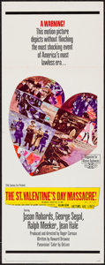 "Movie Posters:Crime, The St. Valentine's Day Massacre (20th Century Fox, 1967). Insert(14"" X 36""). Crime.. ..."