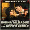 "Movie Posters:Drama, The Devil's Needle (Triangle, 1916). Six Sheet (81"" X 81"").. ..."