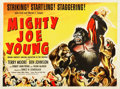 "Movie Posters:Horror, Mighty Joe Young (RKO, 1949). British Quad (30"" X 40"").. ..."