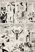 Original Comic Art:Panel Pages, John Byrne and Dan Green Iron Fist #15 Page 16 X-MenOriginal Art With Mary Jane Sketch (Marvel, 1977)....
