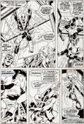 Original Comic Art:Panel Pages, John Byrne and Dan Adkins Iron Fist #13 Page 22 Original Art(Marvel, 1977)....