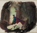 Animation Art:Concept Art, Snow White and the Seven Dwarfs Evil Queen Concept Drawing(Walt Disney, 1937)....
