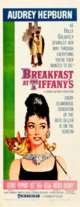 "Movie Posters:Romance, Breakfast at Tiffany's (Paramount, 1961). Insert (14"" X 36"").. ..."