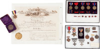 Frank Dwight Baldwin Archive: Collection of His Medals