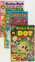 Bronze Age (1970-1979):Cartoon Character, Richie Rich and His Girlfriends #1-16 Complete Run and RelatedTitles Group (Harvey, 1974-82) Condition: Average VF/NM.... (Total:42 Comic Books)