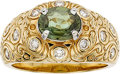 Estate Jewelry:Rings, CHRYSOBERYL, DIAMOND, GOLD RING. ...