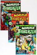 Bronze Age (1970-1979):Horror, Frankenstein Group (Marvel, 1973-) Condition: Average VF/NM....(Total: 7 Comic Books)