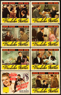 "Movie Posters:Comedy, Bachelor Mother (RKO, 1939). Lobby Card Set of 8 (11"" X 14"").. ... (Total: 8 Items)"
