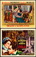 "Movie Posters:Drama, Mary of Scotland (RKO, 1936). Title Lobby Card and Lobby Card (11""X 14"").. ... (Total: 2 Items)"