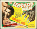 """Movie Posters:Horror, The Leopard Man (RKO, 1943). Title Lobby Card (11"""" X 14"""").. ..."""
