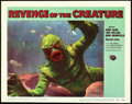 "Movie Posters:Horror, Revenge of the Creature (Universal International, 1955). Lobby Card (11"" X 14"").. ..."