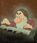 Animation Art:Production Cel, Snow White and the Seven Dwarfs Grumpy Production CelCourvoisier Setup (Walt Disney, 1937)....