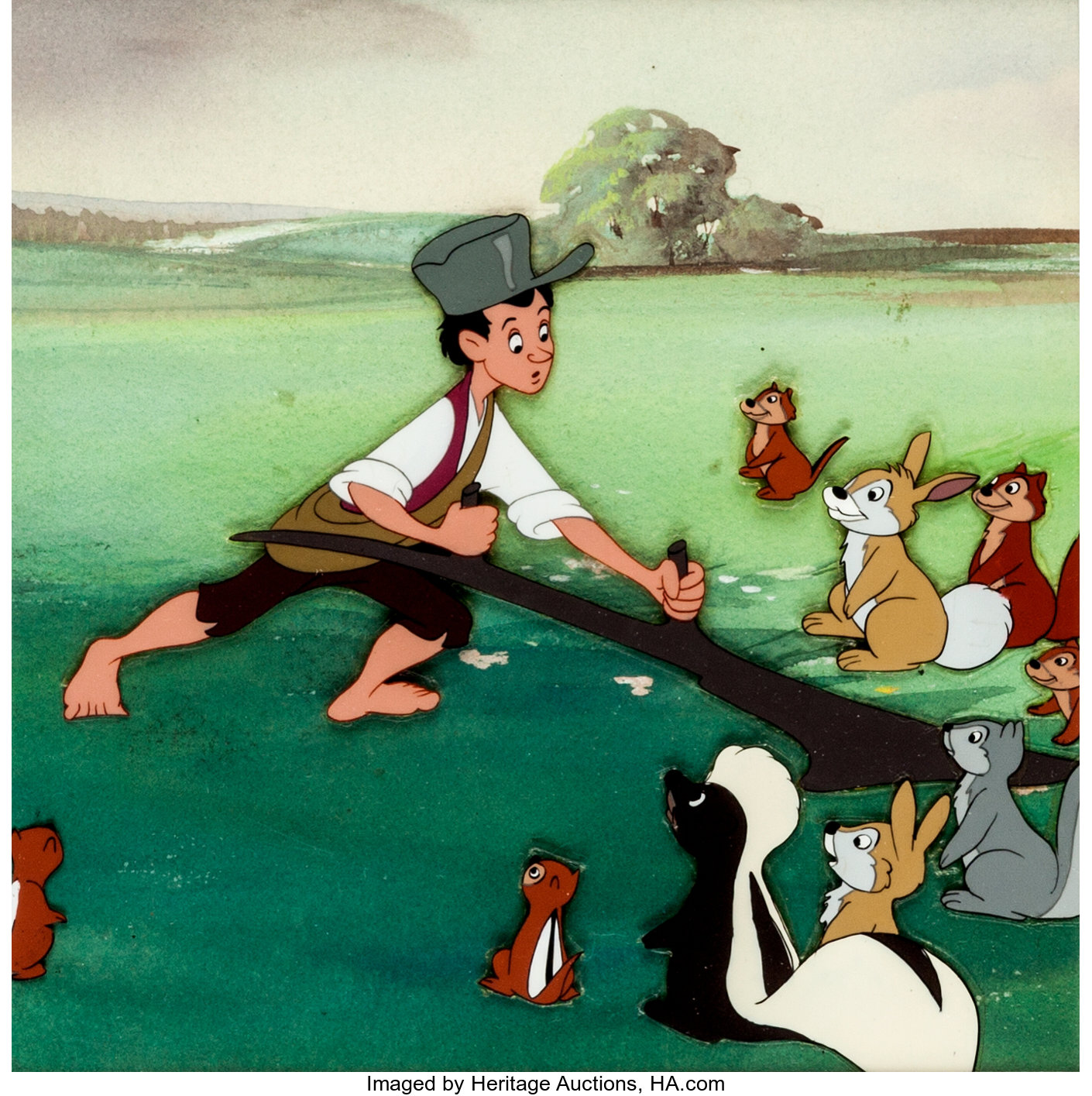 Melody Time Johnny Appleseed Production Cel Walt Disney 1948 Lot 94244 Heritage Auctions