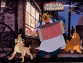 Animation Art:Production Cel, Lady and the Tramp Tony Production Cel Setup (Walt Disney,1955).... (Total: 3 Original Art)