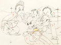 Animation Art:Production Drawing, Mickey's Gala Premier Mickey and Friends Production Drawing(Walt Disney, 1933)....