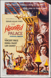 """The Haunted Palace & Other Lot (American International, 1963). One Sheets (2) (27"""" X 41""""). Horror..."""