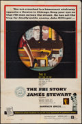 "Movie Posters:Crime, The FBI Story (Warner Brothers, 1959). One Sheet (27"" X 41"").Crime.. ..."